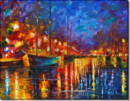 Ночной порт - Афремов, Леонид (20 век)