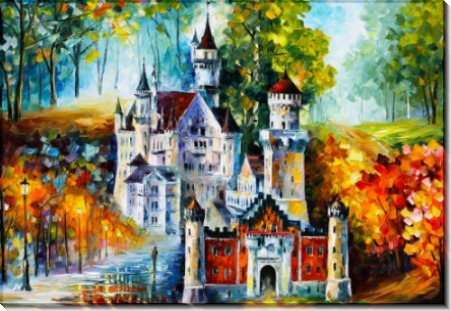 Замок четырех времен года - Афремов, Леонид (20 век)
