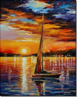Плавание на закате - Афремов, Леонид (20 век)