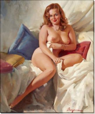 Портрет обнаженной женщины - Элвгрен, Джил