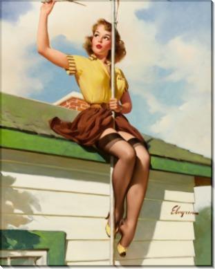 На крыше дома - Элвгрен, Джил
