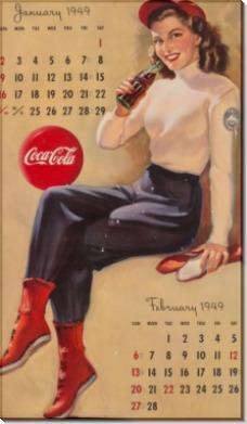 Календарь Кока-Кола - Элвгрен, Джил