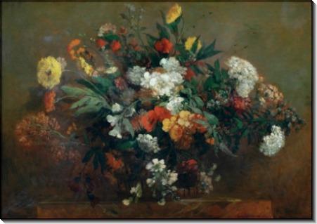 Цветы - Делакруа, Эжен