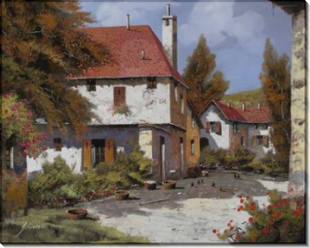 Городок в Бургундии - Борелли, Гвидо (20 век)