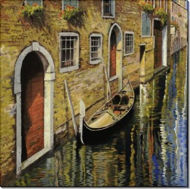Гондола в Венеции - Борелли, Гвидо (20 век)