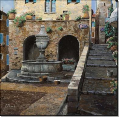 Улица Бреск в Сен-Поль-де-Ванс - Борелли, Гвидо (20 век)