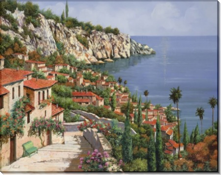 Городок на берегу моря - Борелли, Гвидо (20 век)