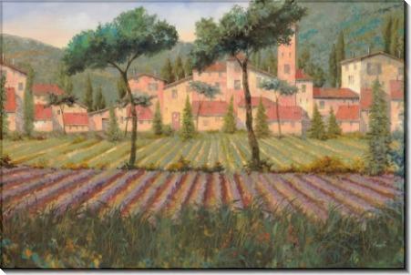 Деревушка за лавандовым полем - Борелли, Гвидо (20 век)
