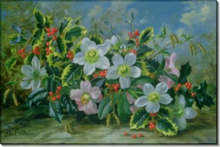 Рождественские розы и падуб - Вильямс, Альберт