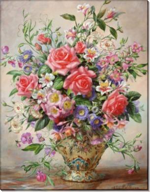 Букет цветов в вазе - Вильямс, Альберт