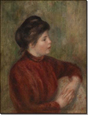 Женщина в кресле - Ренуар, Пьер Огюст