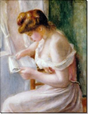 Читающая женщина - Ренуар, Пьер Огюст
