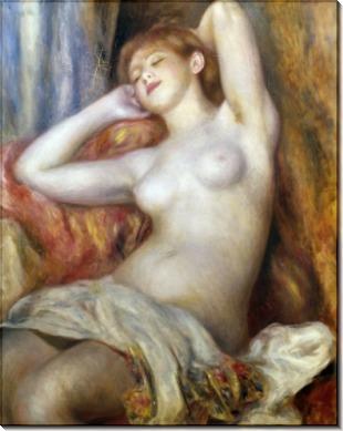 Спящая женщина - Ренуар, Пьер Огюст
