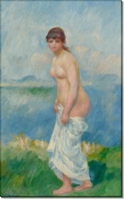 Стоящая купальщица - Ренуар, Пьер Огюст