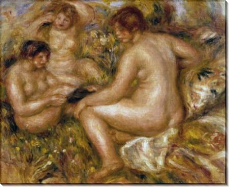 Три купальщицы - Ренуар, Пьер Огюст
