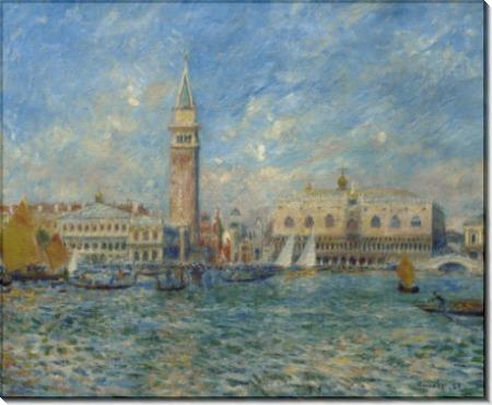 Дворец дожей в Венеции - Ренуар, Пьер Огюст