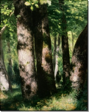 В лесу Фонтенбло - Ренуар, Пьер Огюст