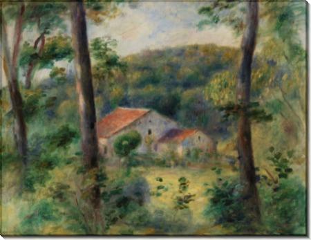 Пейзаж в окрестностях Брие - Ренуар, Пьер Огюст
