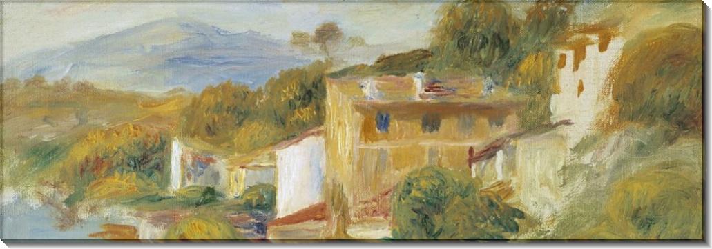 Прованский пейзаж - Ренуар, Пьер Огюст