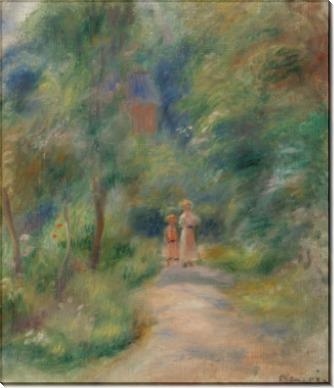 Две фигуры на дороге - Ренуар, Пьер Огюст