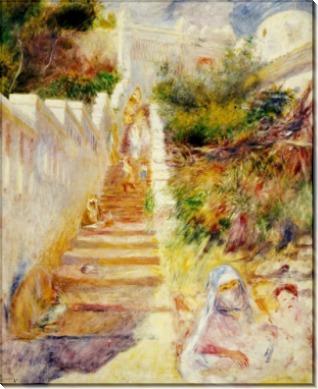 Лестница в Алжире - Ренуар, Пьер Огюст