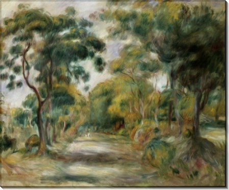 Пейзаж в Нооне - Ренуар, Пьер Огюст