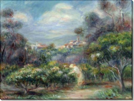 Пейзаж близ Кани - Ренуар, Пьер Огюст