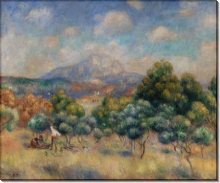 Гора Сен-Виктуар - Ренуар, Пьер Огюст