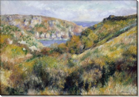 Холмы на острове Гернси - Ренуар, Пьер Огюст