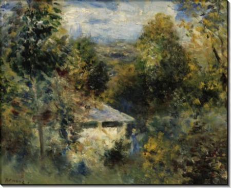 Пейзаж в Лувесьене - Ренуар, Пьер Огюст