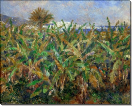 Банановая плантация - Ренуар, Пьер Огюст