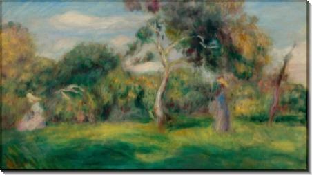 Женщина в саду - Ренуар, Пьер Огюст