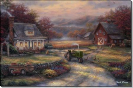 Послеполуденный сбор урожая - Пинсон, Чак (20 век)