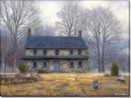 Старинный сельский дом - Пинсон, Чак (20 век)