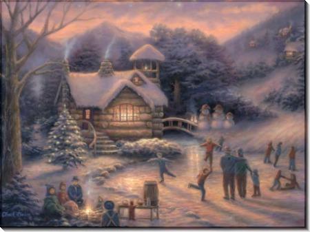 Зимние забавы в сумерках - Пинсон, Чак (20 век)