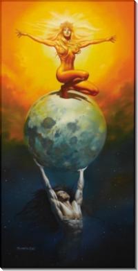 Солнце и Луна - Вальехо, Борис (20 век)