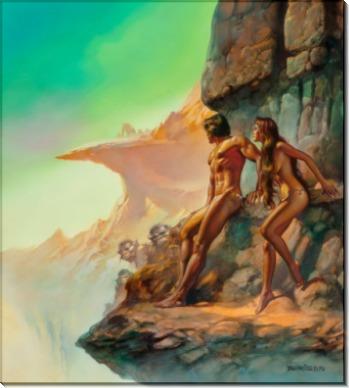Создатель Вселенных, из серии Многоярусный мир - Вальехо, Борис (20 век)