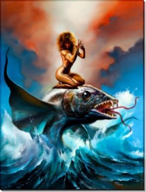 Бог океана Тинирау - Вальехо, Борис (20 век)