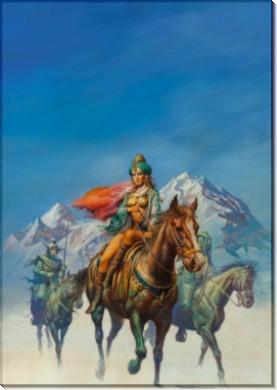 Иллюстрация к Дочь королей - Вальехо, Борис (20 век)