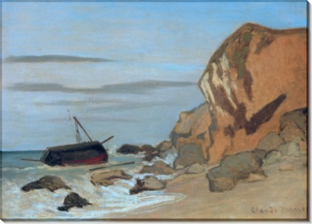 Скалистый берег моря - Моне, Клод