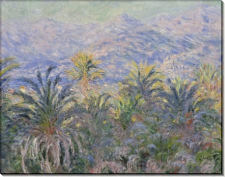 Пальмы в Бордигере - Моне, Клод