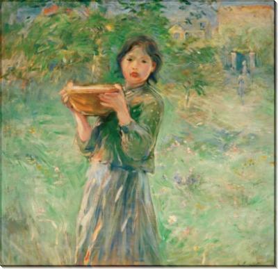 Девочка с миской молока - Моризо, Берта