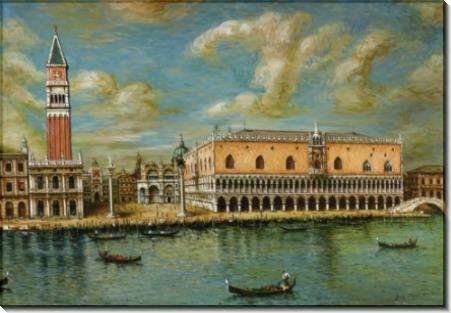 Большой канал в Венеции - Кирико, Джорджо де