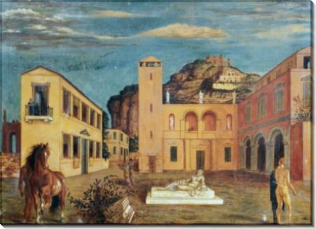 Римская вилла - Кирико, Джорджо де