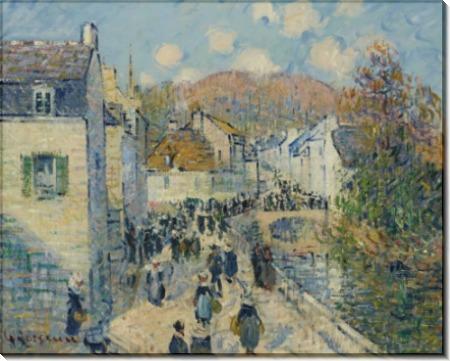 Рыночный день в Понт-Авене - Луазо, Гюстав