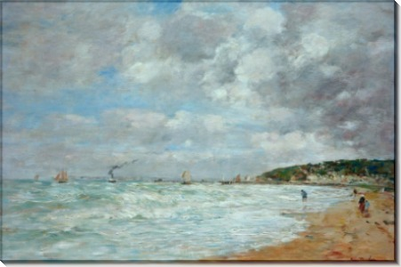 Пляж в Трувиле - Буден, Эжен