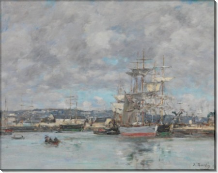Порт в Гавре - Буден, Эжен