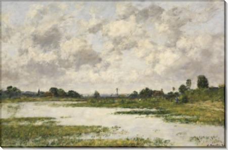 Река Тук в Трувиле - Буден, Эжен