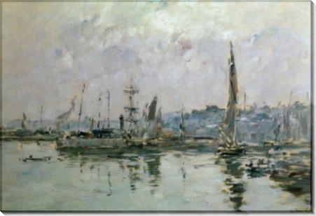 Порт в Трувиле - Буден, Эжен