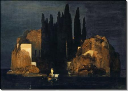 Остров мертвых, 1880 - Бёклин, Арнольд